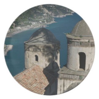 Europa, Italia, Campania, (costa de Amalfi), 3 Platos De Comidas