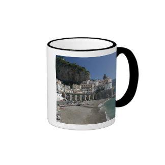 Europa, Italia, Campania, (costa de Amalfi), Amalf Tazas De Café