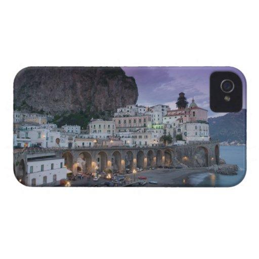 Europa, Italia, Campania (costa) de Amalfi Atrani: iPhone 4 Fundas