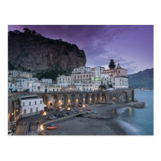 Europa, Italia, Campania (costa) de Amalfi Atrani: Postales