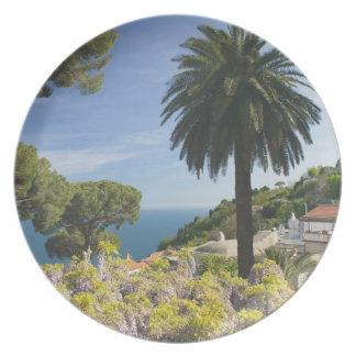 Europa, Italia, Campania, (costa de Amalfi), Plato Para Fiesta