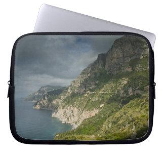 Europa, Italia, Campania (costa) de Amalfi Positan Funda Ordendadores