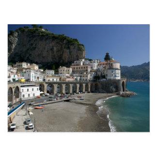 Europa, Italia, Campania, (costa de Amalfi), Tarjetas Postales