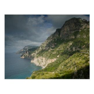 Europa, Italia, Campania (costa) de Amalfi Tarjetas Postales