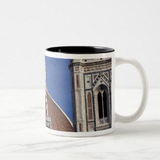 Europa, Italia, Florencia. Catedral del Duomo Taza De Café