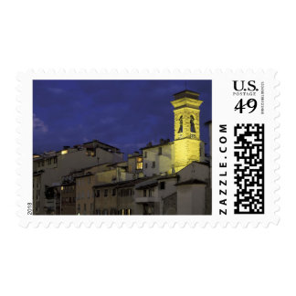 Europa, Italia, Florencia, detalle arquitectónico; Estampilla