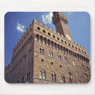 Europa, Italia, Florencia. El Plazzo medieval Alfombrilla De Ratones