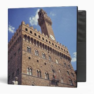 """Europa, Italia, Florencia. El Plazzo medieval Carpeta 1 1/2"""""""