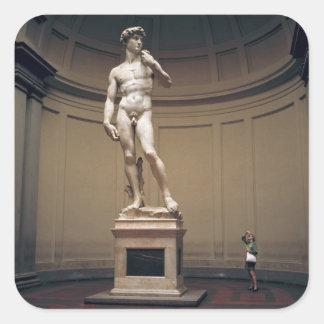 Europa, Italia, Florencia. El tamaño real de Pegatina Cuadrada