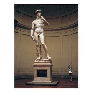 Europa, Italia, Florencia. El tamaño real de Postales