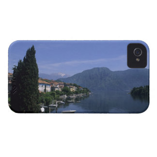 Europa, Italia, lago Como, Tremezzo. Septentrional iPhone 4 Carcasas