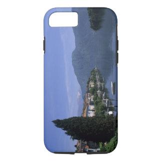 Europa, Italia, lago Como, Tremezzo. Septentrional Funda iPhone 7