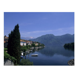 Europa, Italia, lago Como, Tremezzo. Septentrional Postal