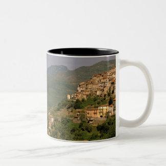 Europa, Italia, Liguria, Riviera di Ponente, 2 Taza De Dos Tonos
