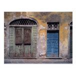 Europa, Italia, Lucca. Estas puertas viejas añaden Postal
