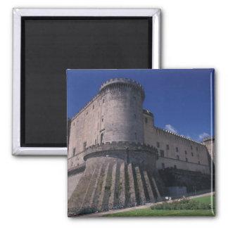 Europa, Italia, Nápoles, castillo Nuovo Imán Cuadrado