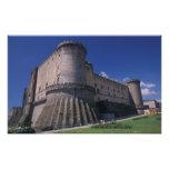Europa, Italia, Nápoles, castillo Nuovo Impresión Fotográfica