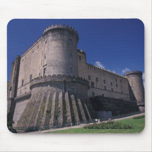 Europa, Italia, Nápoles, castillo Nuovo Alfombrillas De Raton