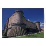 Europa, Italia, Nápoles, castillo Nuovo Tarjeta
