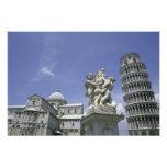 Europa, Italia, Pisa, torre inclinada de Pisa Cojinete
