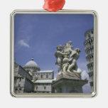 Europa, Italia, Pisa, torre inclinada de Pisa Adornos De Navidad