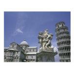 Europa, Italia, Pisa, torre inclinada de Pisa Postales