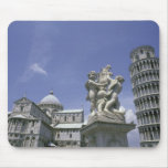 Europa, Italia, Pisa, torre inclinada de Pisa Tapete De Ratones