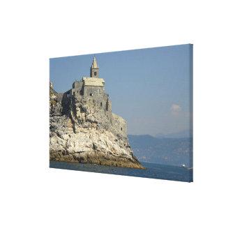 Europa, Italia, Portovenere aka Oporto Venere. 4 Impresión En Lona Estirada