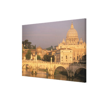 Europa, Italia, Roma, el Vatican. Basílica San Impresiones En Lona