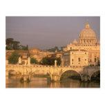 Europa, Italia, Roma, el Vatican. Basílica San Tarjeta Postal