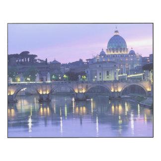 Europa, Italia, Roma, el Vatican. San Pedro Impresión En Madera