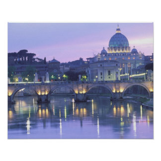 Europa, Italia, Roma, el Vatican. San Pedro y Póster
