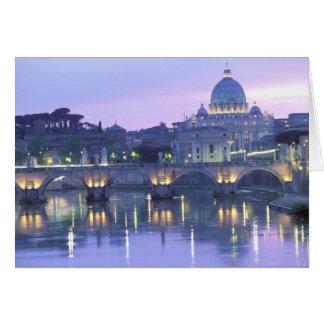 Europa, Italia, Roma, el Vatican. San Pedro y Felicitaciones