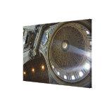 Europa, Italia, Roma. La basílica de San Pedro (ak Impresiones En Lienzo Estiradas