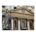 Europa, Italia, Roma. La basílica de San Pedro Postales