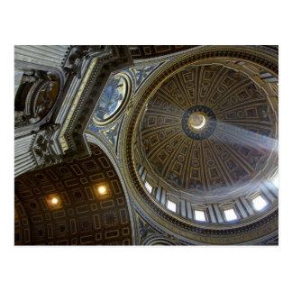 Europa, Italia, Roma. La basílica de San Pedro Tarjeta Postal