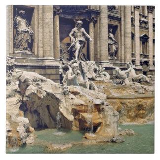 Europa, Italia, Roma. Las monedas dejan en desorde Azulejo Cuadrado Grande