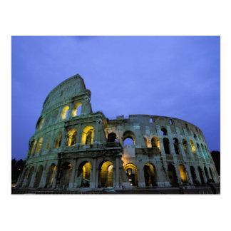 Europa, Italia, Roma. Opinión de la tarde del Postal