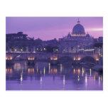 Europa, Italia, Roma. San Pedro y Ponte Sant Postal