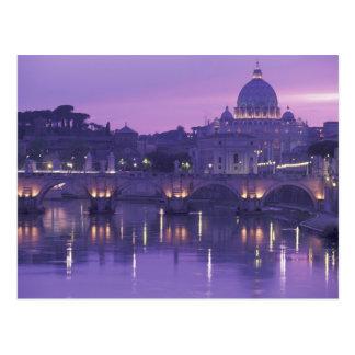 Europa, Italia, Roma. San Pedro y Ponte Sant Postales