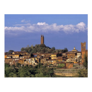 Europa, Italia, San Miniato. Debajo de un ancho, Postal