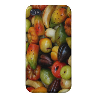 Europa, Italia, Sicilia, Taormina. 3 tradicionales iPhone 4/4S Carcasa