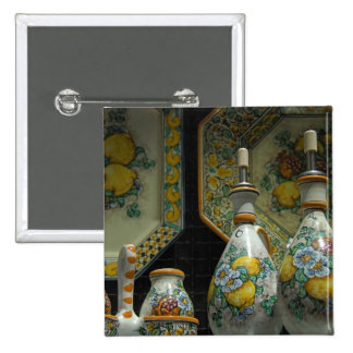 Europa, Italia, Sicilia, Taormina. 7 tradicionales Pin Cuadrada 5 Cm