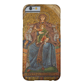 Europa, Italia, Sicilia, Taormina. Madonna y niño Funda De iPhone 6 Barely There