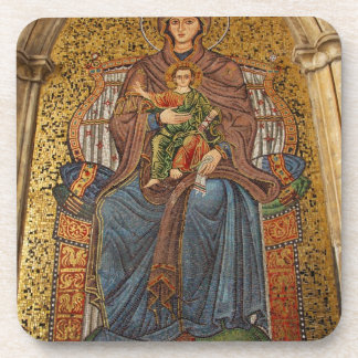 Europa, Italia, Sicilia, Taormina. Madonna y niño Portavasos