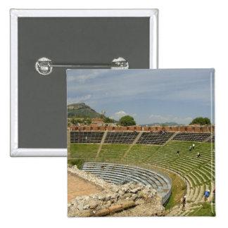 Europa, Italia, Sicilia, Taormina. Siglo III 2 Pin Cuadrada 5 Cm