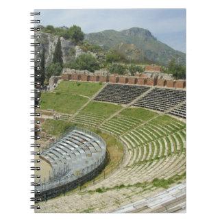 Europa, Italia, Sicilia, Taormina. Siglo III Libro De Apuntes Con Espiral