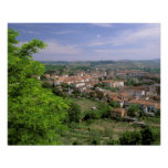 Europa, Italia, Toscana, Certaldo. Colina medieval Impresiones