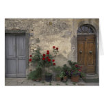 Europa, Italia, Toscana, Chianti, entrada toscana; Tarjetón