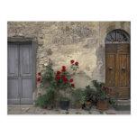 Europa, Italia, Toscana, Chianti, entrada toscana; Tarjeta Postal